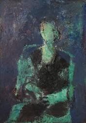 Детский портрет в голубых тонах