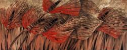 Полет красной стрекозы (Триптих)