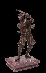 Самурай с мечом