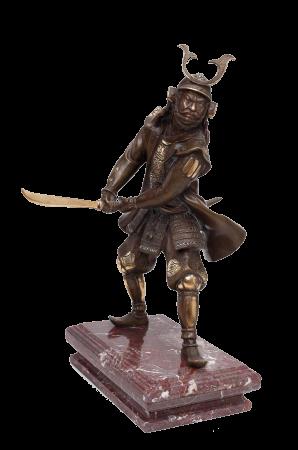 Нападающий самурай